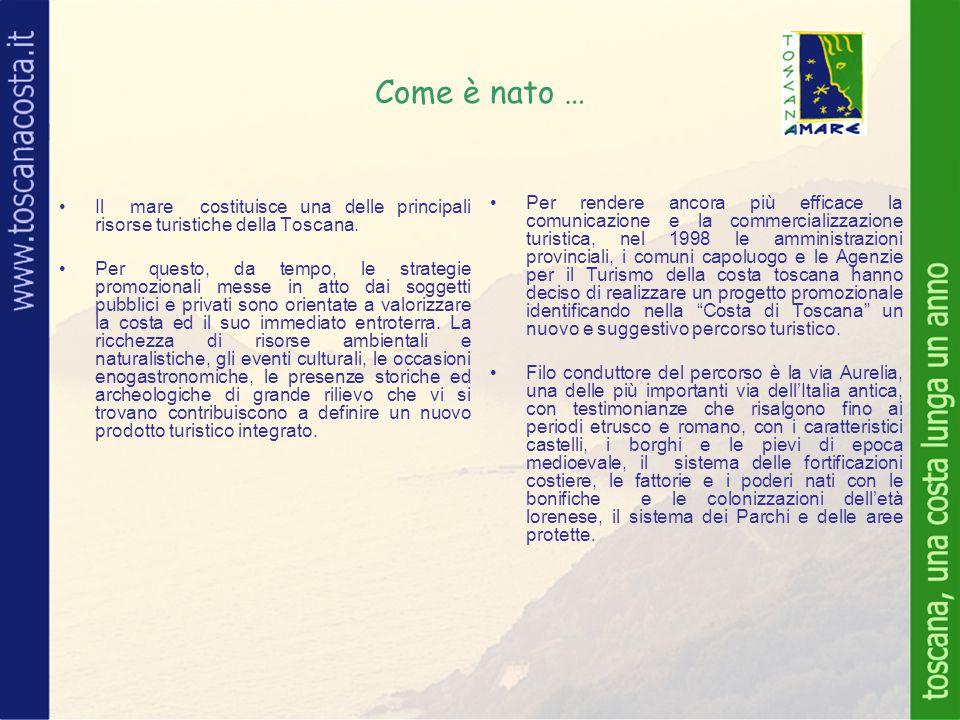Come è nato … Il mare costituisce una delle principali risorse turistiche della Toscana.