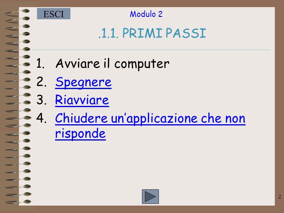 Modulo 2 ESCI 2.1.1.