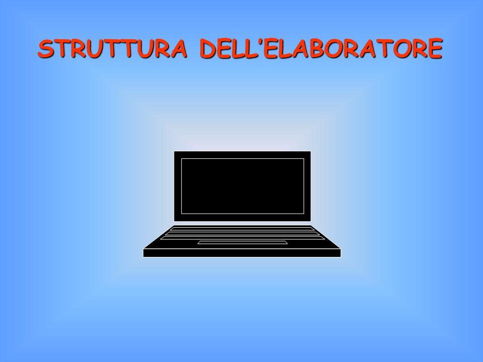 STRUTTURA DELL'ELABORATORE