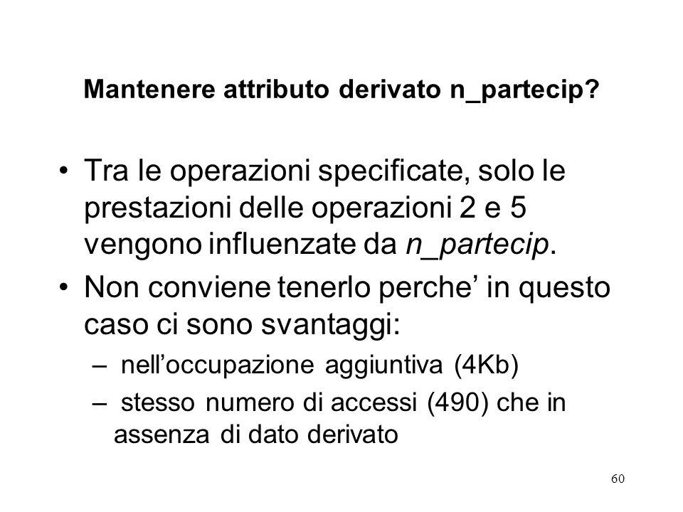 60 Mantenere attributo derivato n_partecip.