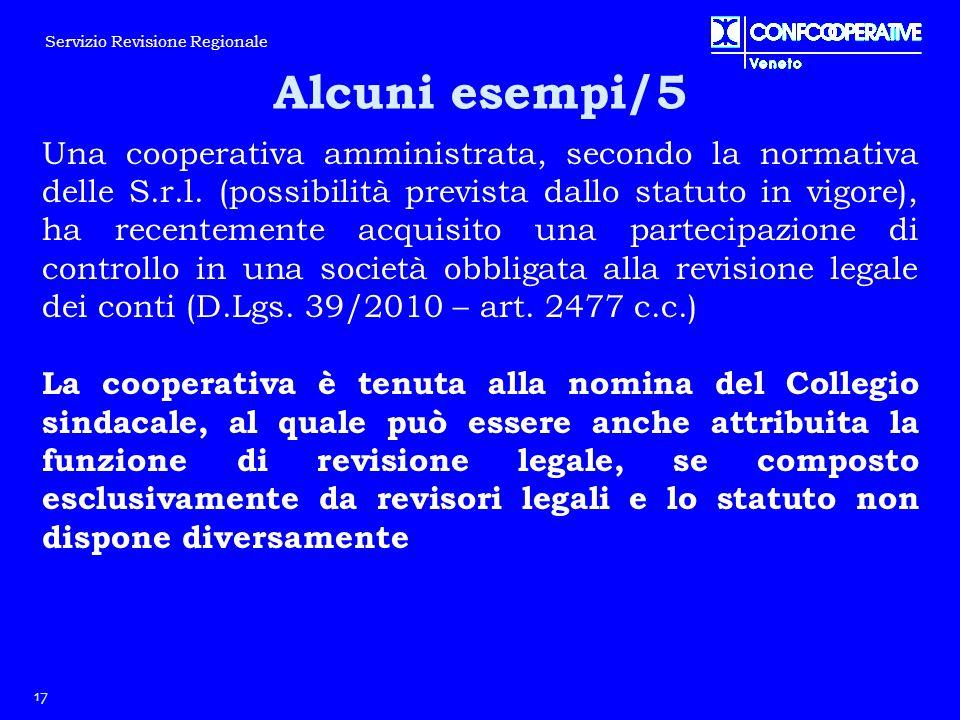 Una cooperativa amministrata, secondo la normativa delle S.r.l. (possibilità prevista dallo statuto in vigore), ha recentemente acquisito una partecip