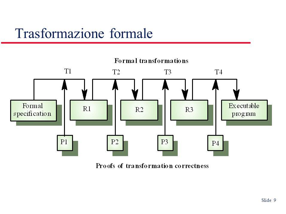 Slide 9 Trasformazione formale