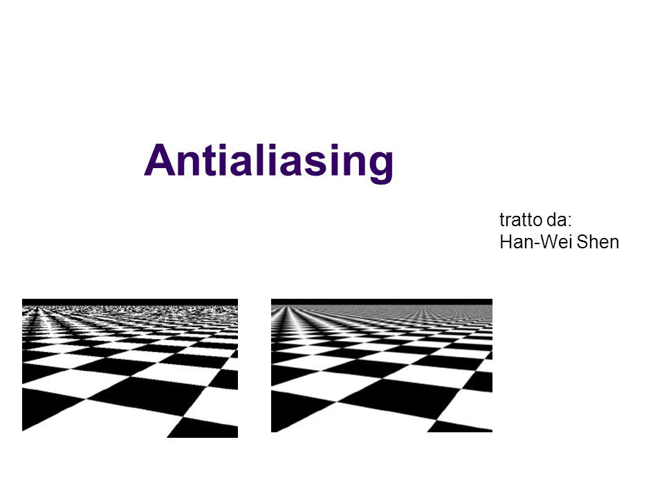 Antialiasing tratto da: Han-Wei Shen