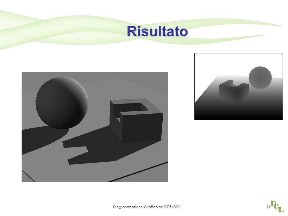 Programmazione Grafica aa2005/200611 Risultato