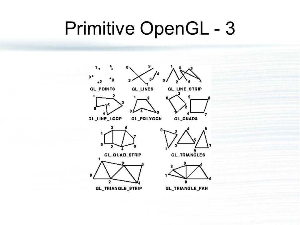 Primitive OpenGL - 3