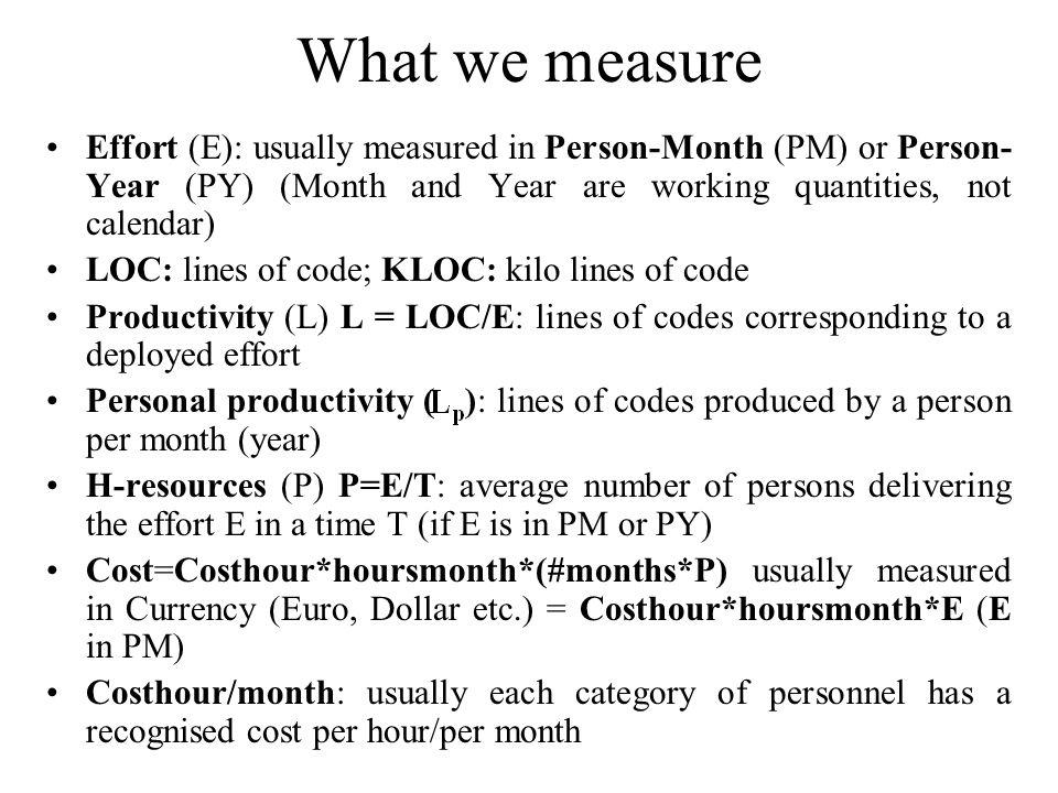 The Intermediate COCOMO Personnel Attributes C 8 C 9 C 10 C 11 C 12