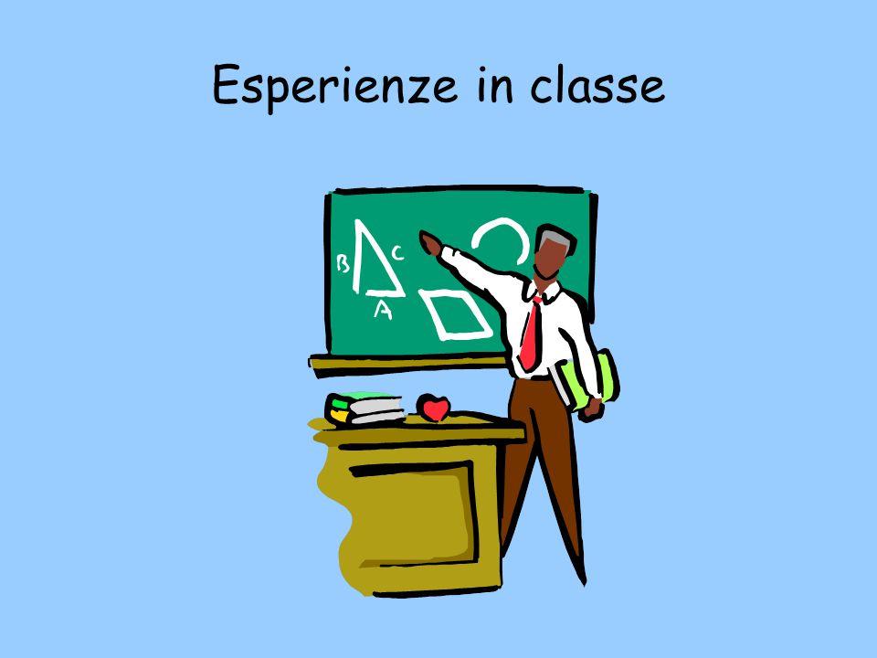 Esperienze in classe