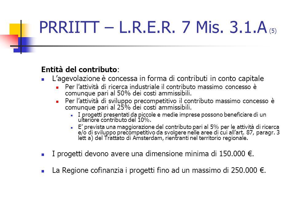 PRRIITT – L.R.E.R. 7 Mis.
