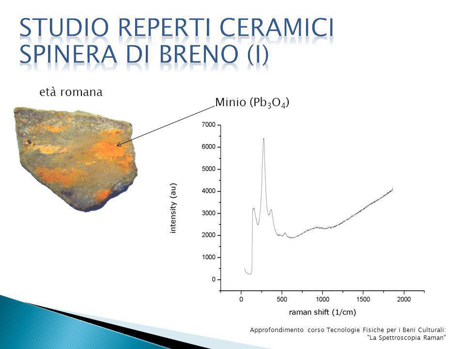 età romana Approfondimento corso Tecnologie Fisiche per i Beni Culturali: