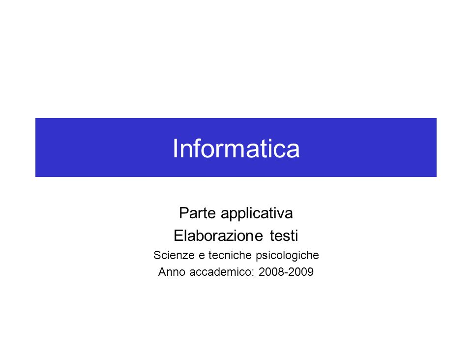 Aprire Microsoft Word 1.Fare clic sul pulsante Avvio/Start.