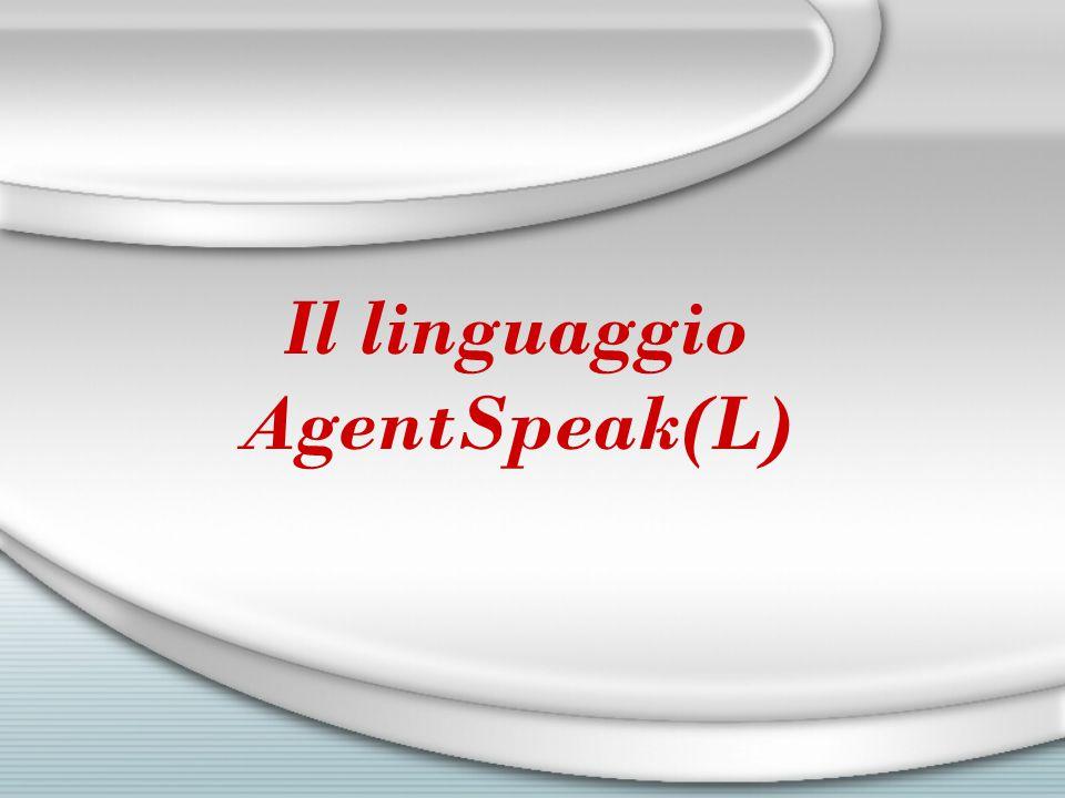Il linguaggio AgentSpeak(L)