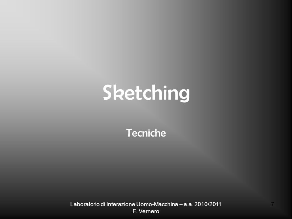 Lezione 2 -- 28 Casualità - 2 http://designmichaelsurtees.blogspot.com/2006/01/tea-stain-ideas.html http://communicationnation.blogspot.com/2006/01/visual-thinking-practice-randomness.html http://www.flickr.com/photos/davegray/ Laboratorio di Interazione Uomo-Macchina – a.a.
