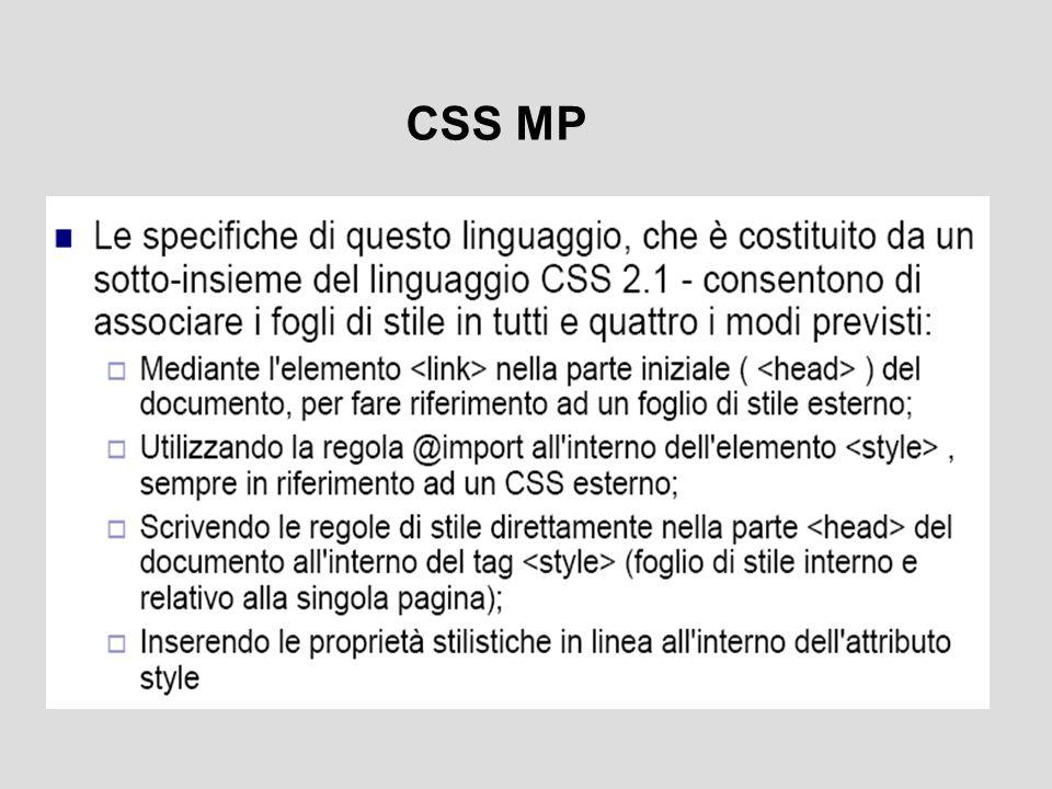 CSS MP