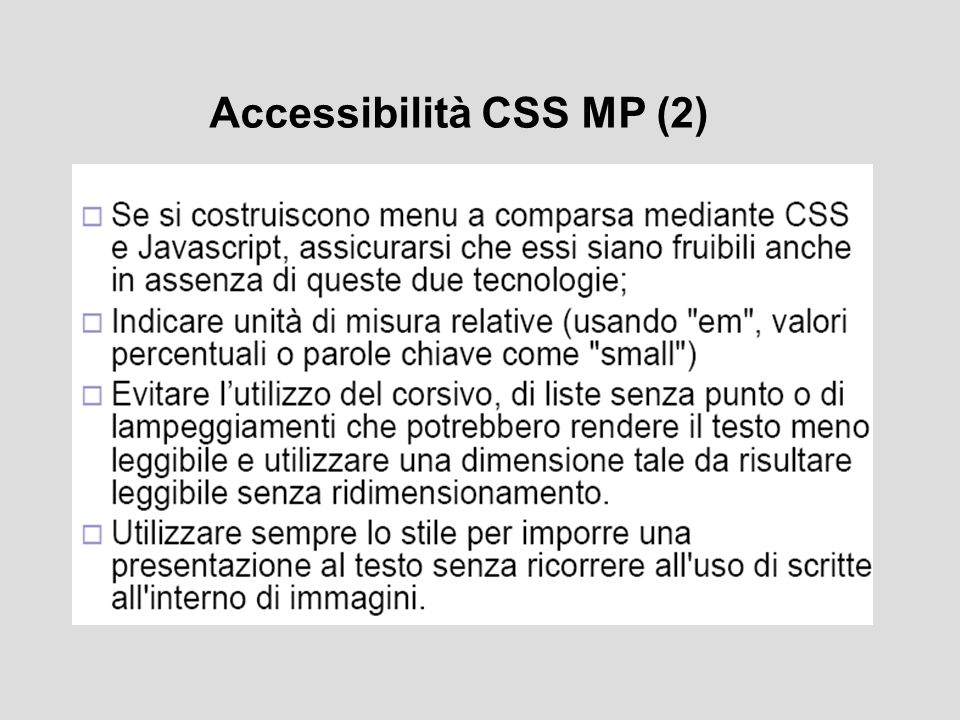 Accessibilità CSS MP (2)