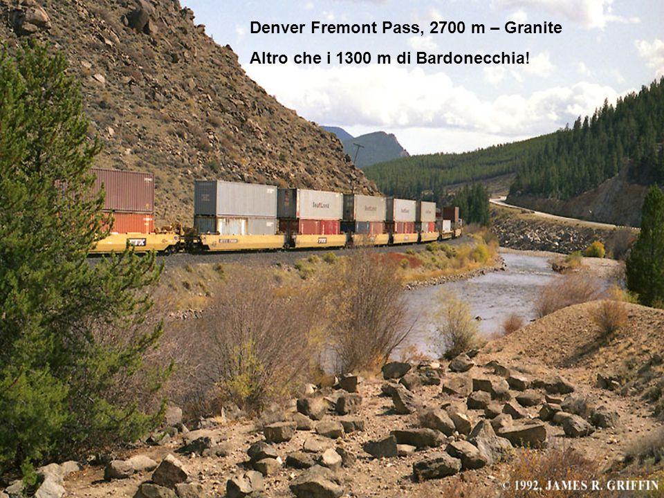 Denver Fremont Pass, 2700 m – Granite Altro che i 1300 m di Bardonecchia!