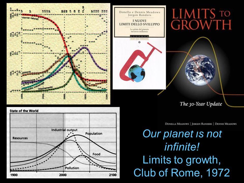 …una volta iniziata una corsa agli armamenti verso la crescita dimensionale, questa diventa inarrestabile; ma le dimensioni ottimali non sono quelle enormi, sono quelle intermedie.