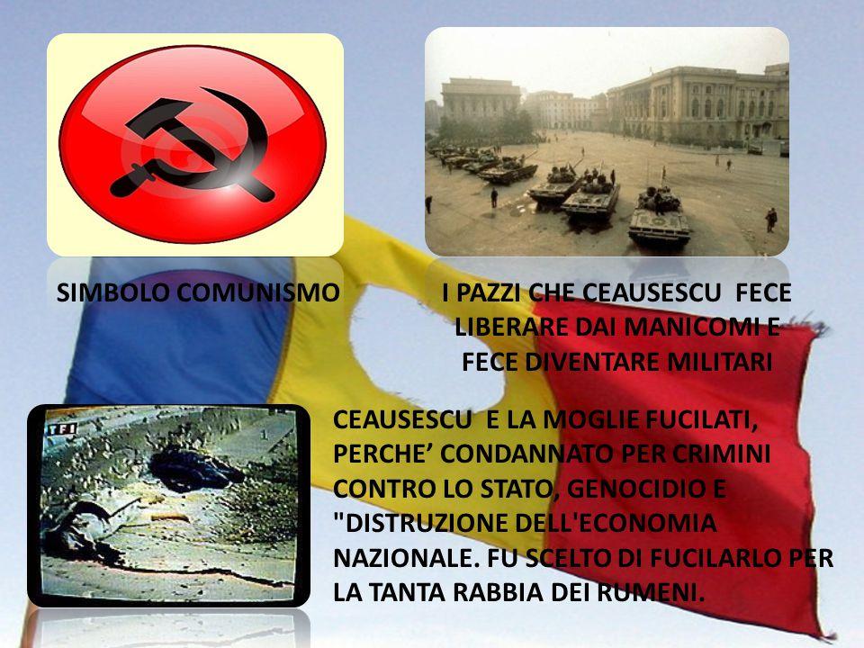 NICOLAE CEAUŞESCU È STATO UN POLITICO RUMENO. SEGRETARIO GENERALE DEL PARTITO COMUNISTA RUMENO DAL 1965, FU IL DITTATORE DELLA ROMANIA DAL 1967 AL DIC