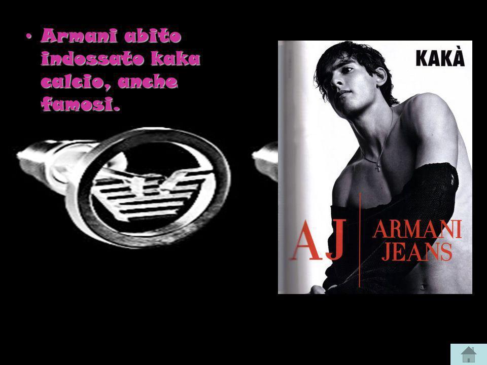 Armani abito indossato kaka calcio, anche famosi.Armani abito indossato kaka calcio, anche famosi.