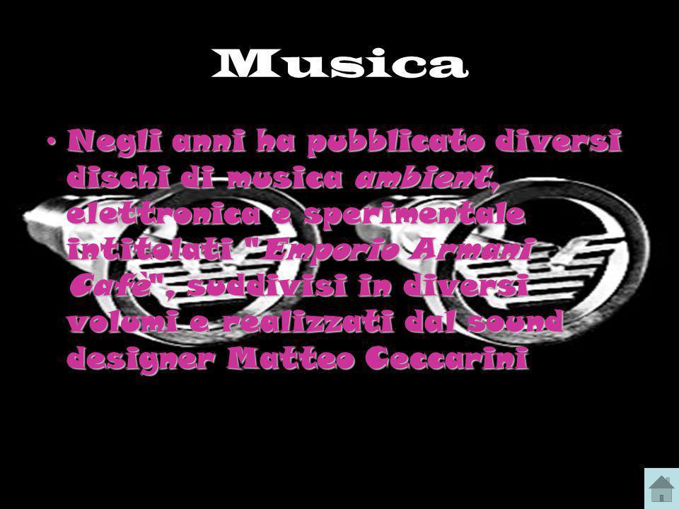 Musica Negli anni ha pubblicato diversi dischi di musica ambient, elettronica e sperimentale intitolati