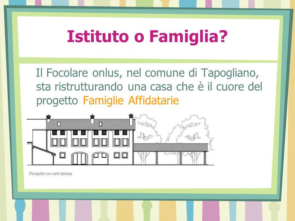 Istituto o Famiglia.