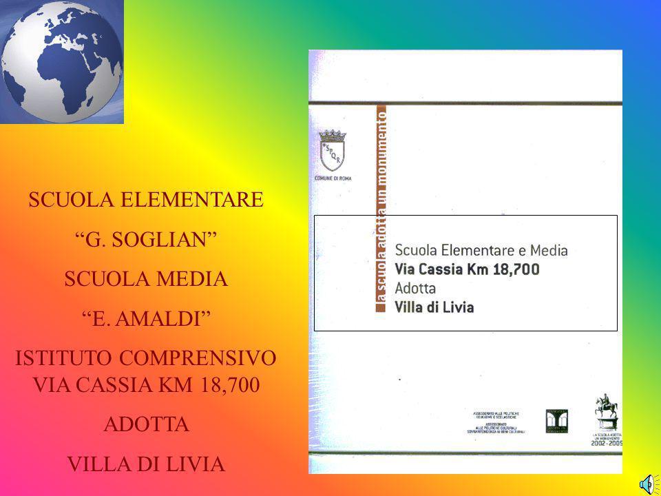 SCUOLA ELEMENTARE G.SOGLIAN SCUOLA MEDIA E.