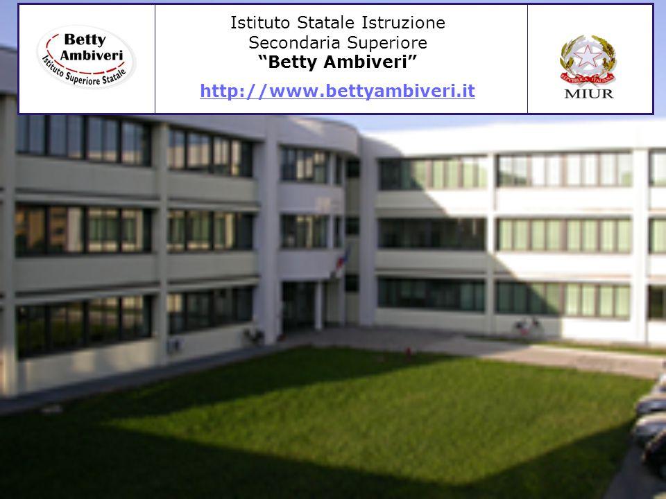"""Istituto Statale Istruzione Secondaria Superiore """"Betty Ambiveri"""" http://www.bettyambiveri.it"""