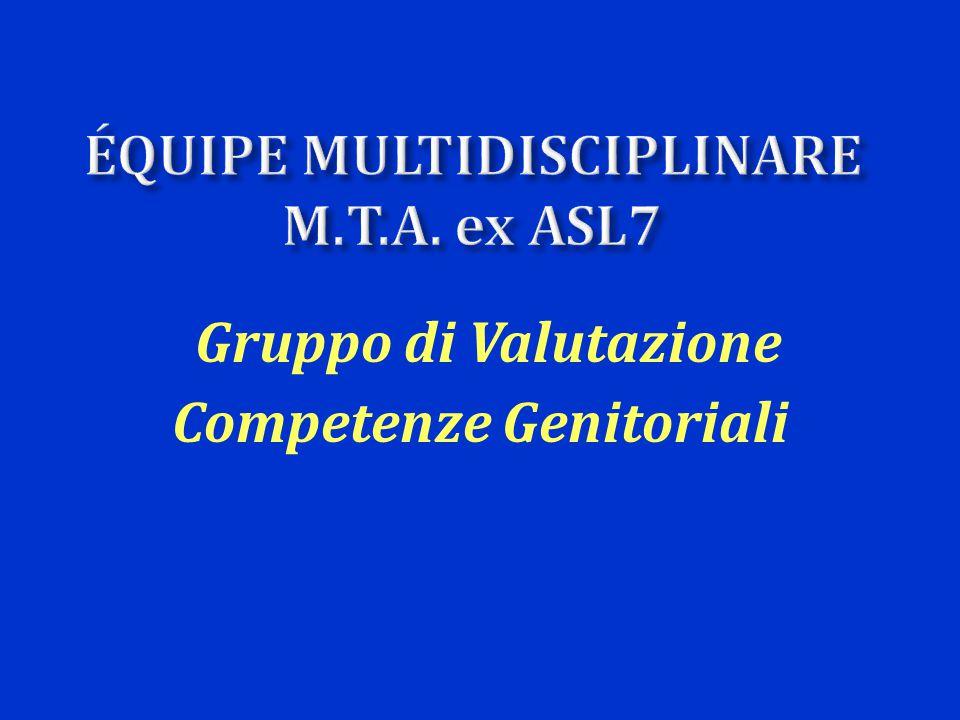 Competenze Genitoriali Gruppo di Valutazione