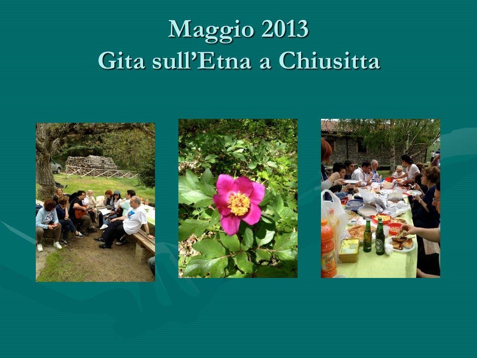 Maggio 2013 Gita sull'Etna a Chiusitta