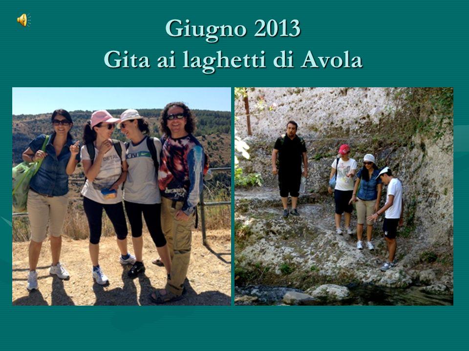 Giugno 2013 Gita ai laghetti di Avola