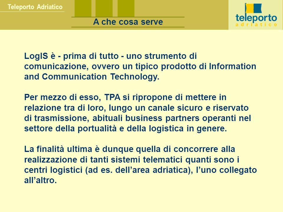 Teleporto Adriatico I NFRASTRUTTURA TLC PIATTAFORMA DOMINO - LOTUS NOTES D.DENSE HTML XML JAVACORBA APPLICATIVI TPA Il modello tecnologico TPA