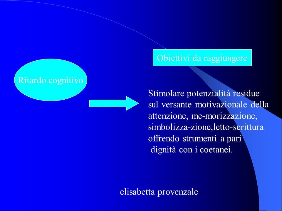 Disabilità visiva Obiettivi da raggiungere Accesso a riviste e testi senza preventiva traduzione ad opera di centri specializzati. elisabetta provenza