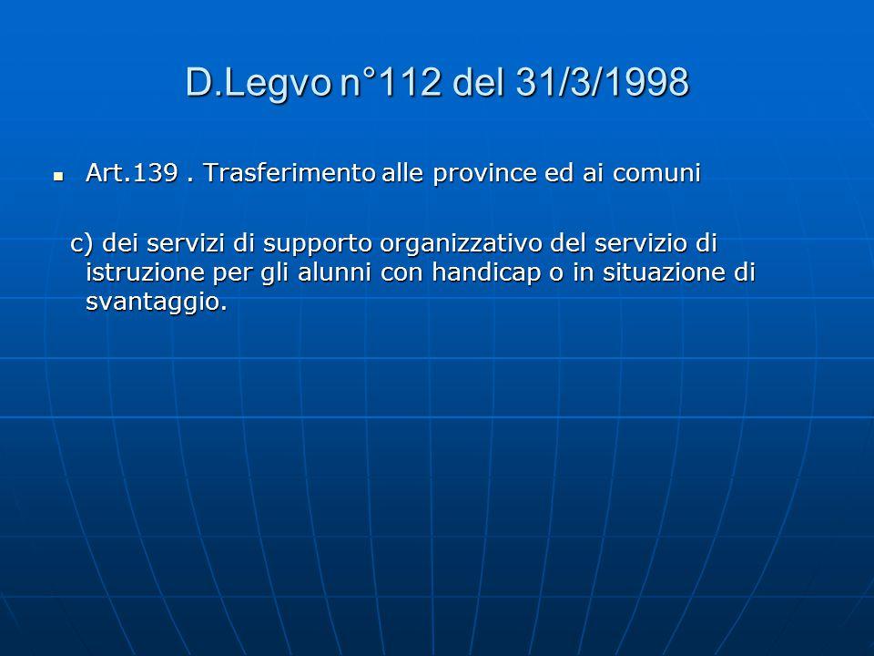 Lettera Circolare n°139/2001 Nota Ministeriale n°186/2002 Nota Ministeriale n°81/2002  Flessibilità: Articolazione delle classi in gruppi Tempo didat