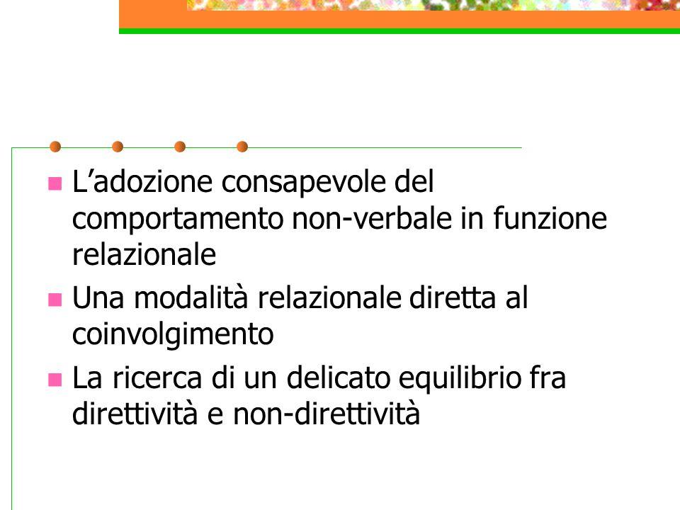 ACCORGIMENTI DIDATTICI MODALITA'COMUNITIVE L'uso della triade scelta-gradazione- presentazione dei contenuti L'opportunità che il messaggio sia motiva