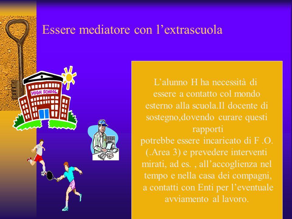 Essere docente,a pieno titolo, della classe L'Art.13, Legge 104, ultimo comma, stabilisce che il docente di sostegno, nell'ambito delle discipline per