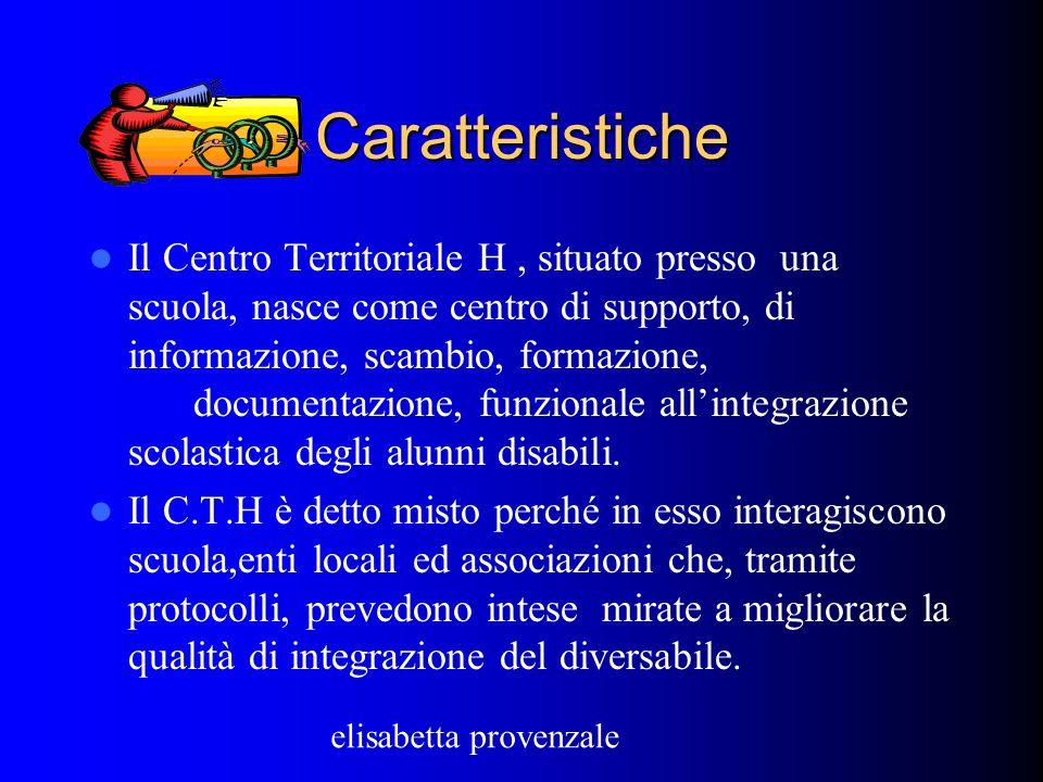 C.S.A di Messinaa cura di elisabetta provenzale Centro territoriale misto per l'integrazione dei diversabili Caratteristiche Funzioni Obiettivi a cura