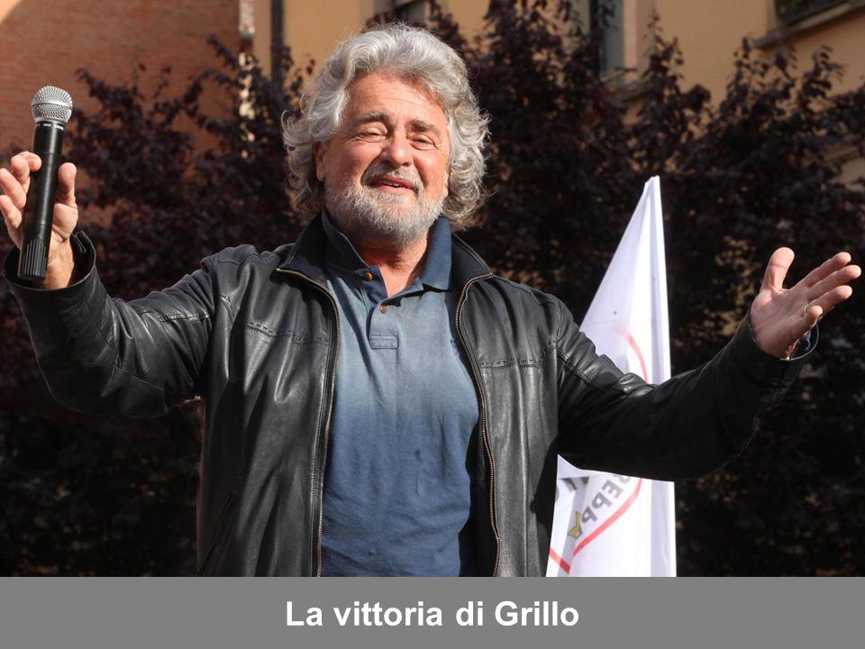 La vittoria di Grillo