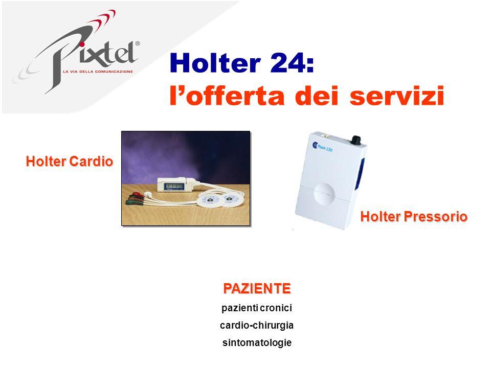 PAZIENTE pazienti cronici cardio-chirurgia sintomatologie Holter 24: l'offerta dei servizi Holter Cardio Holter Pressorio