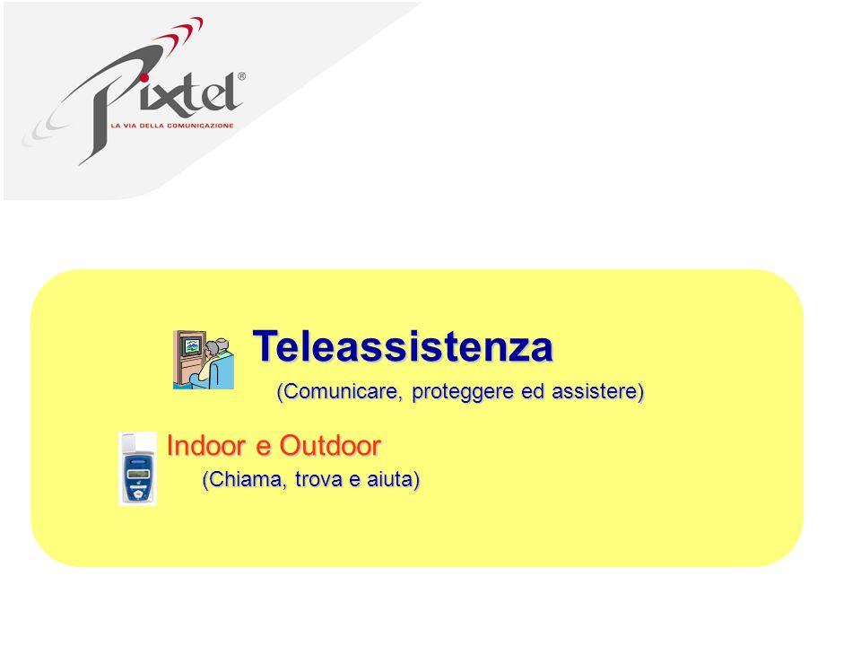 Teleassistenza Indoor e Outdoor (Comunicare, proteggere ed assistere) (Chiama, trova e aiuta)