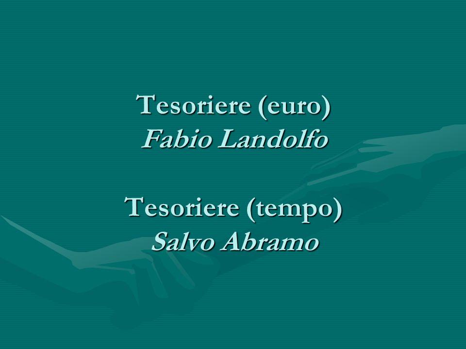 Vicepresidente - segretaria Sabrina Tandurella Segretaria Daniela Calì