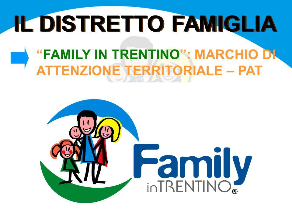 """IL DISTRETTO FAMIGLIA """"FAMILY IN TRENTINO"""": MARCHIO DI ATTENZIONE TERRITORIALE – PAT"""
