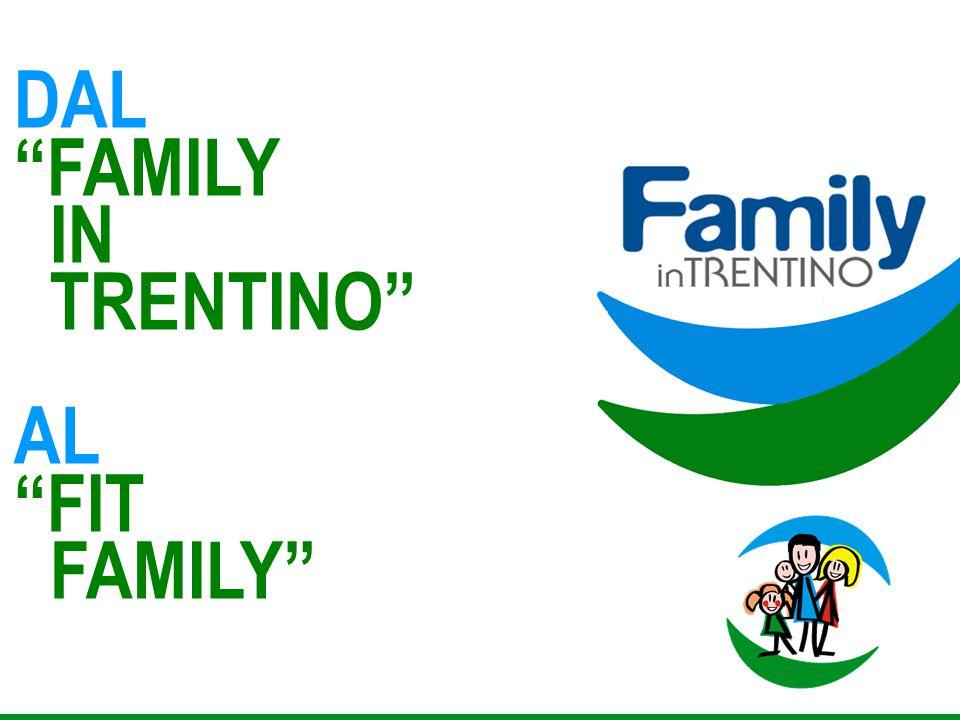 """DAL """"FAMILY IN TRENTINO"""" AL """"FIT FAMILY"""""""