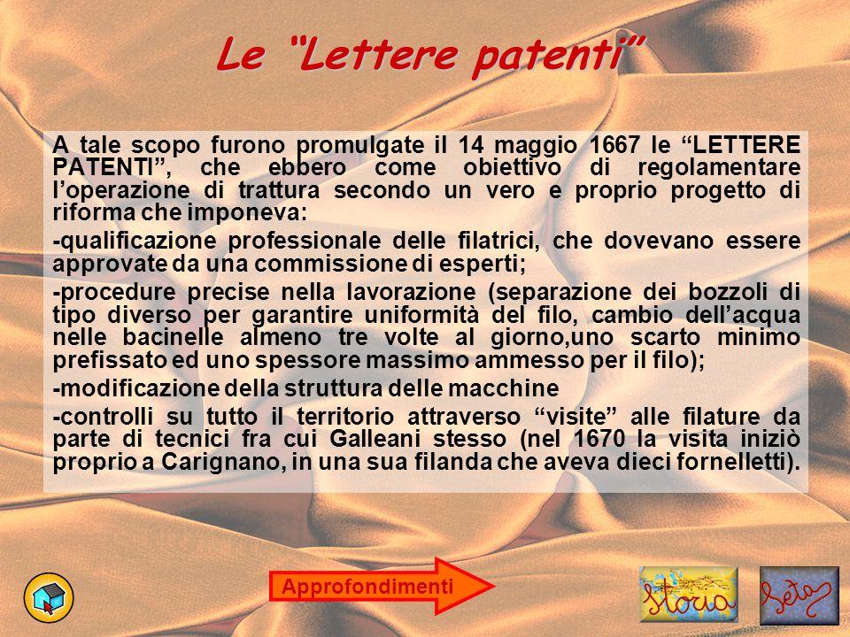 """Le """"Lettere patenti"""" A tale scopo furono promulgate il 14 maggio 1667 le """"LETTERE PATENTI"""", che ebbero come obiettivo di regolamentare l'operazione di"""