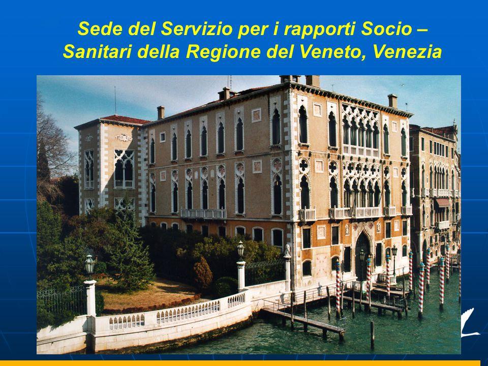 Sede del Servizio per i rapporti Socio – Sanitari della Regione del Veneto, Venezia