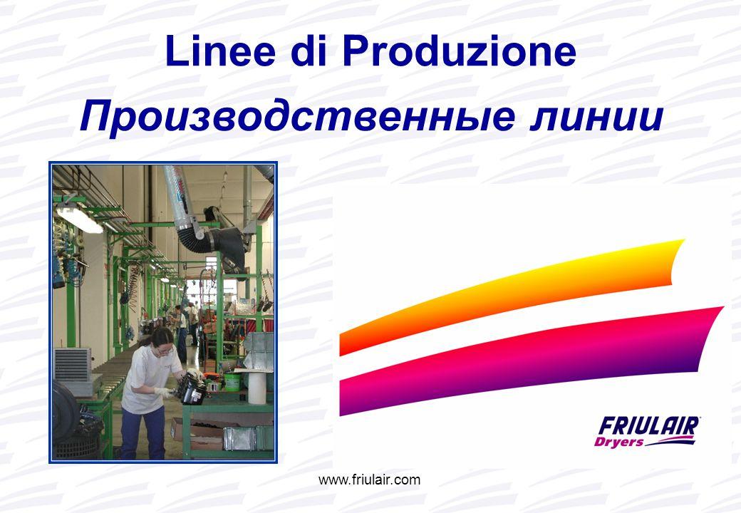 www.friulair.com Производственные линии Linee di Produzione