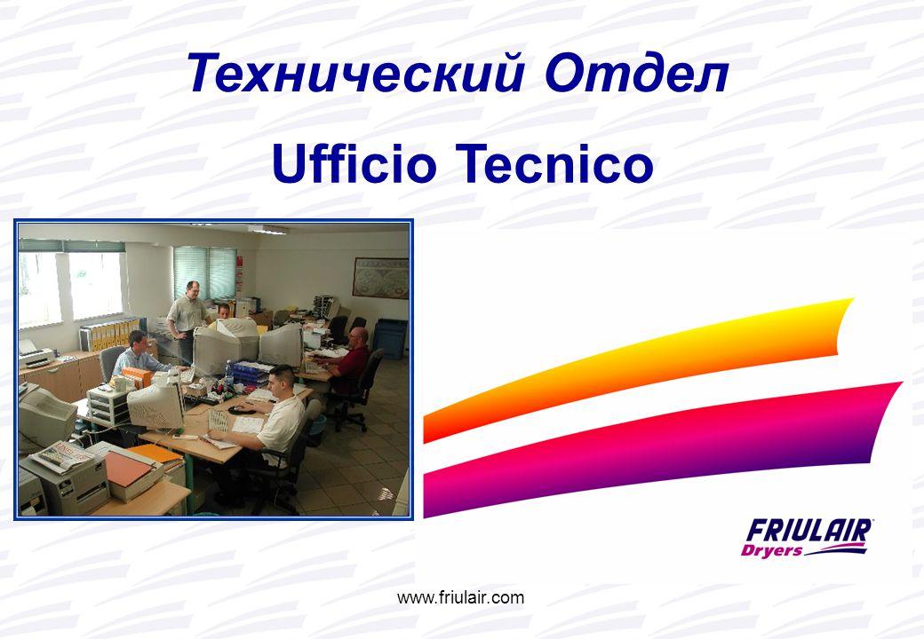 www.friulair.com Технический Отдел Ufficio Tecnico