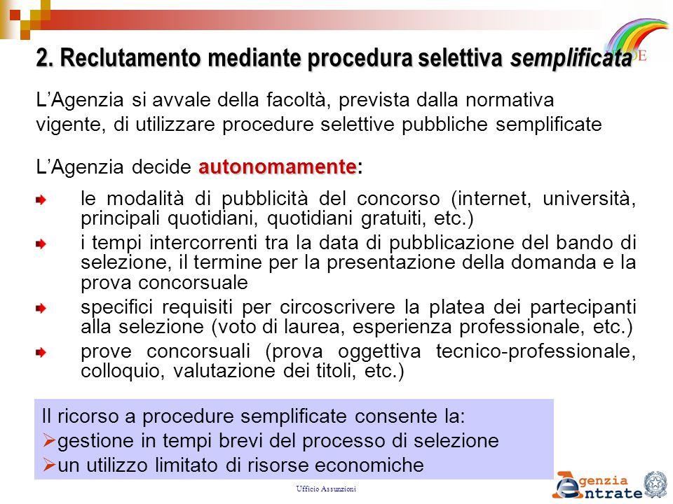 DIREZIONE CENTRALE DEL PERSONALE Ufficio Assunzioni Progetto IRIDE: il programma di orientamento 3.