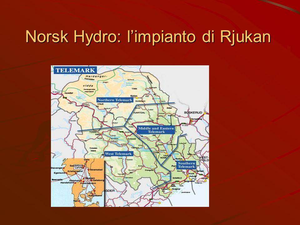 Norsk Hydro: l'impianto di Rjukan