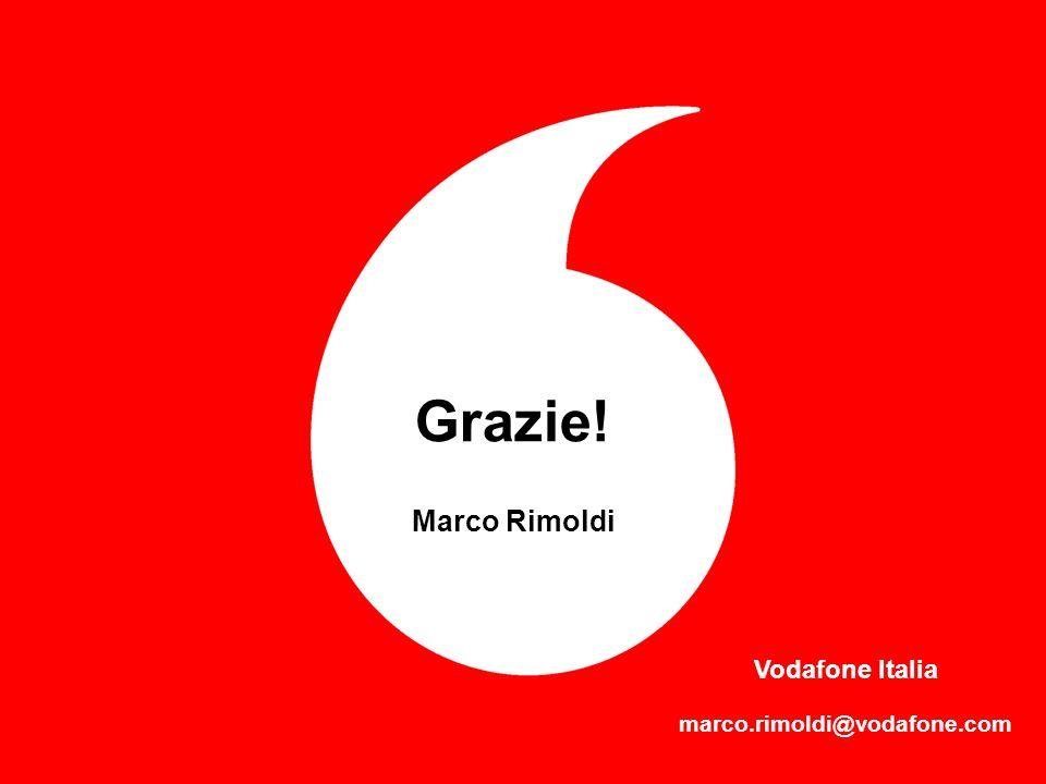 FORUM PA 2004 10 Grazie! Marco Rimoldi Vodafone Italia marco.rimoldi@vodafone.com