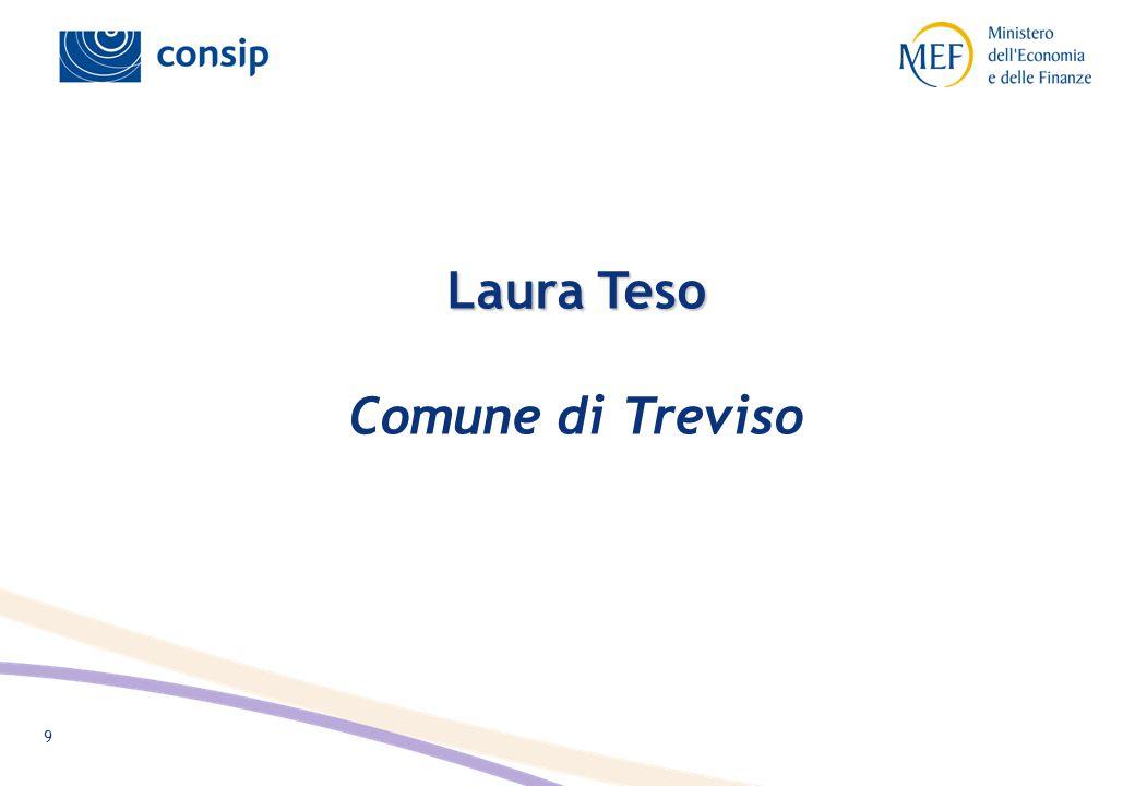 9 Laura Teso Laura Teso Comune di Treviso