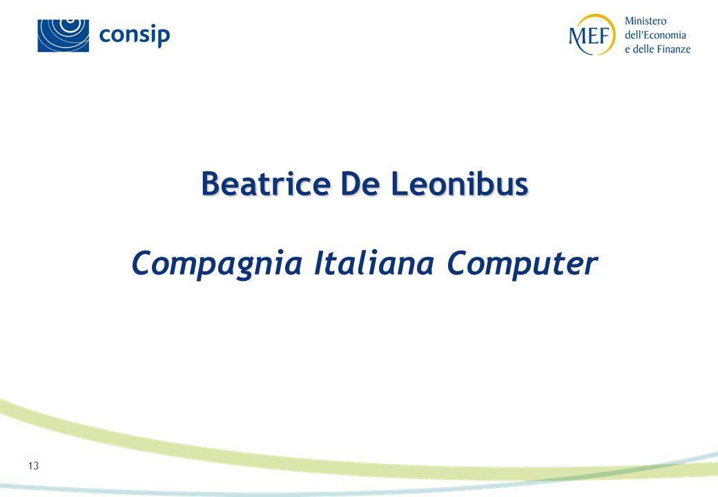 13 Beatrice De Leonibus Beatrice De Leonibus Compagnia Italiana Computer